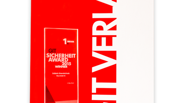 Winnaar van de GIT Sicherheit Awards 2015