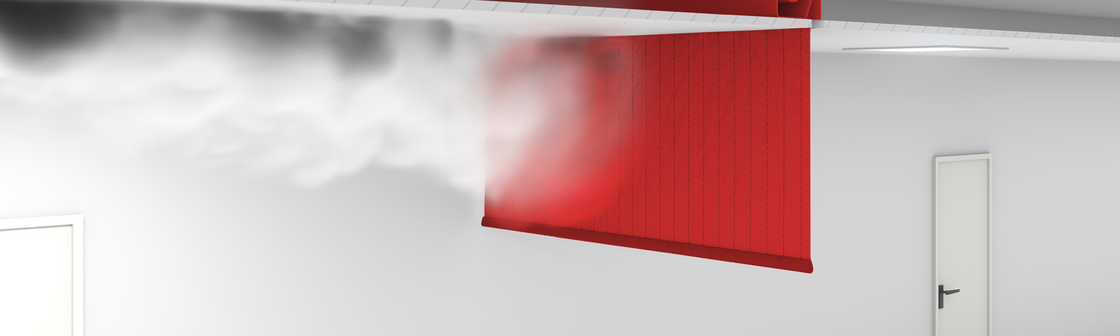 Solutions - Smoke curtains